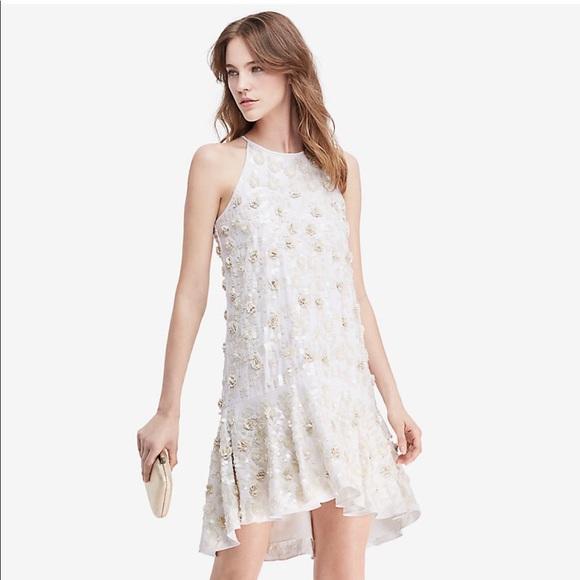 6c9eea8c0b5 DVF Kera Sequin Embellished Dress